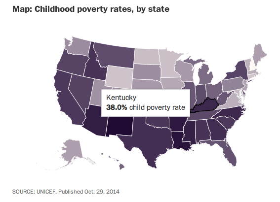 Washington Post poverty by state