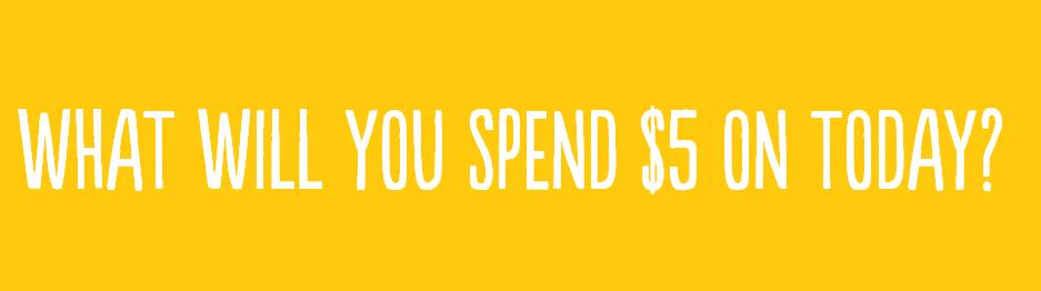 5 Bucks A Month webpage image