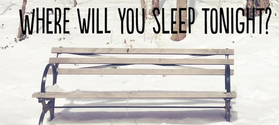 Where Will You Sleep Tonight (snow)