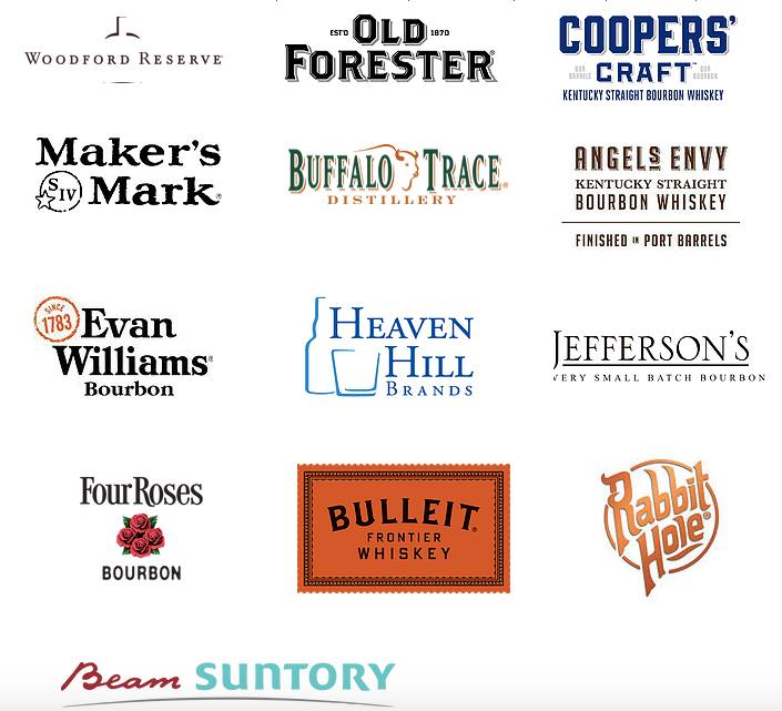 Bourbon Mixer 2016 brands